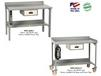 WELDED WORKBENCHES WITH BACKSTOPS